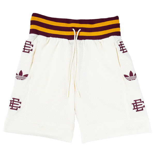 Style code DP2213. adidas by Eric Emanuel Heavy Shorts / Cream White