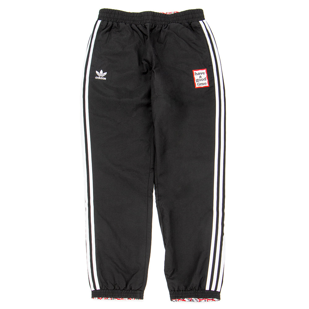 Style code DP7445. adidas by Have a Good Time Reversible Track Pants / Black