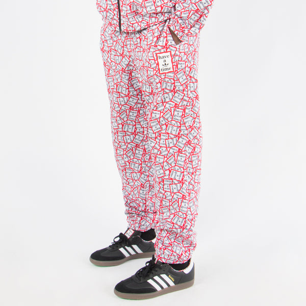 adidas by Have a Good Time Reversible Track Pants / Black