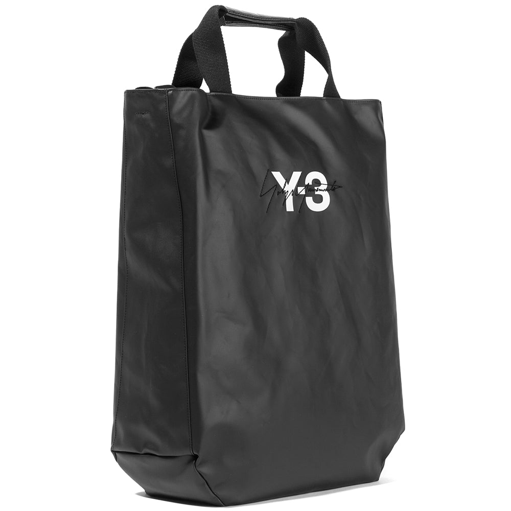 Style code DQ0625. Y-3 Logo Tote / Black