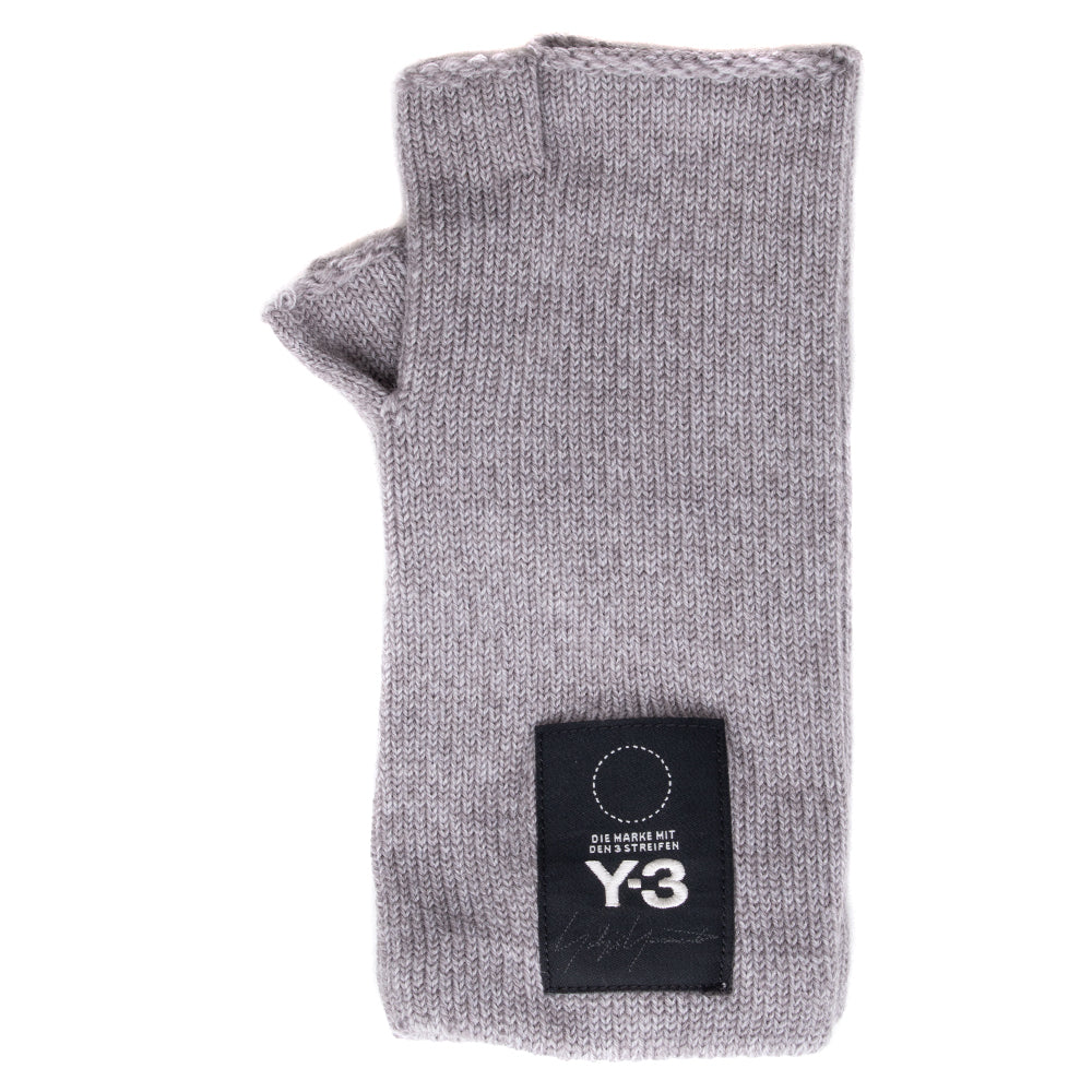 Style code DT0897. Y-3 Logo Gloves / Core Heather