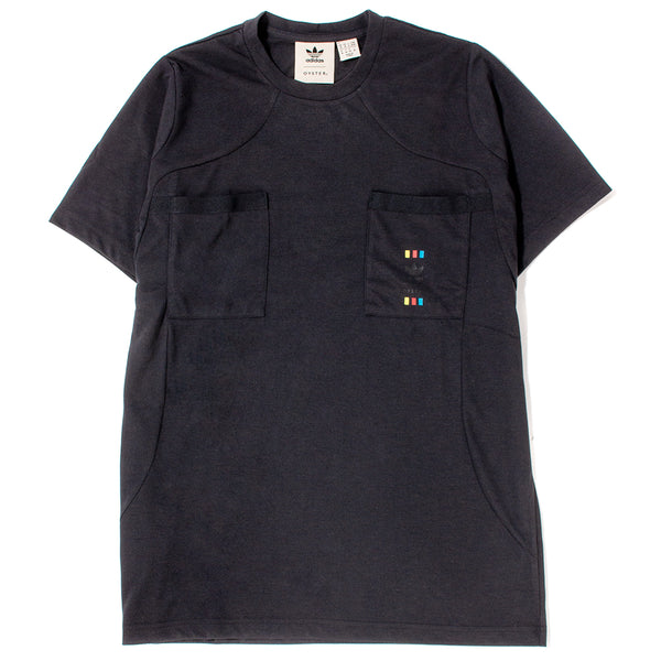Style code DT4811. adidas by Oyster 48 Hour T-shirt / Black