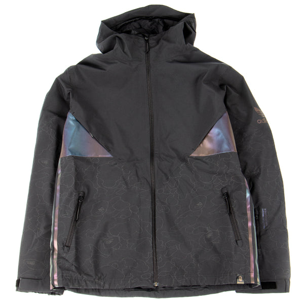 Style code DU0202. adidas by BAPE Snow Jacket / Black