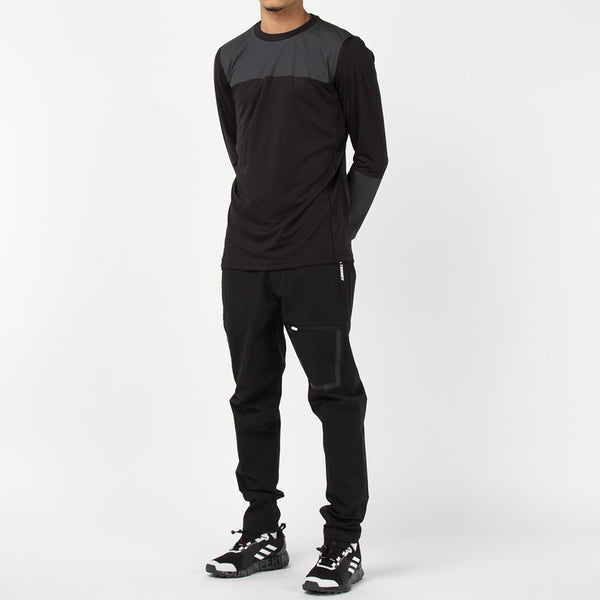 adidas by White Mountaineering Agravic Bonded Long Sleeve / Black