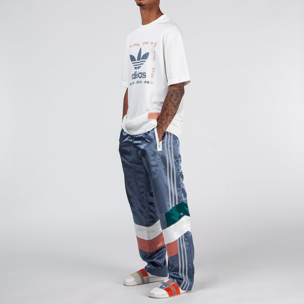 adidas by Bristol Studio Snap Pants / Blue - Deadstock.ca