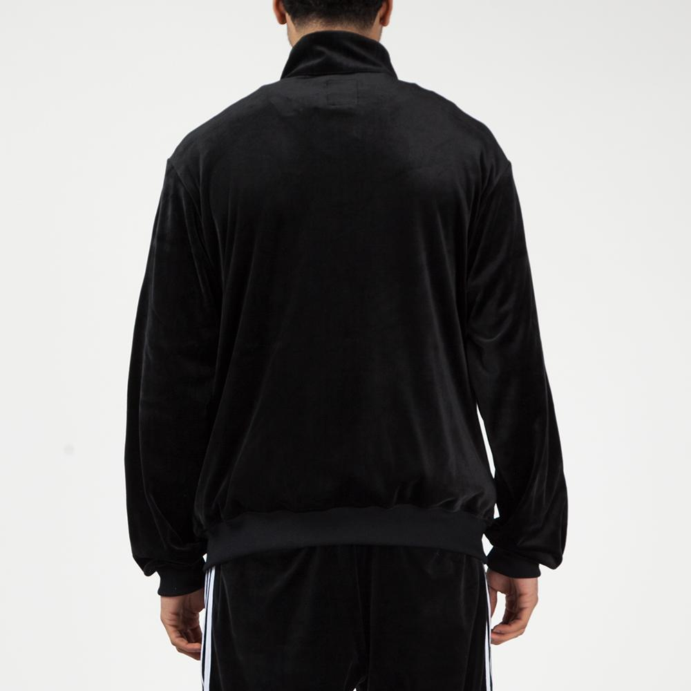 DZ9233 adidas by Have A Good Time Velour Track Top / Black