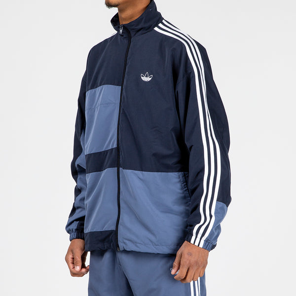 adidas Asymm Track Jacket / Legend Ink - Deadstock.ca