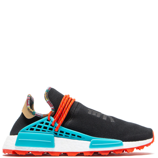 Style code EE7582. adidas by Pharrell Williams Hu NMD / Core Black