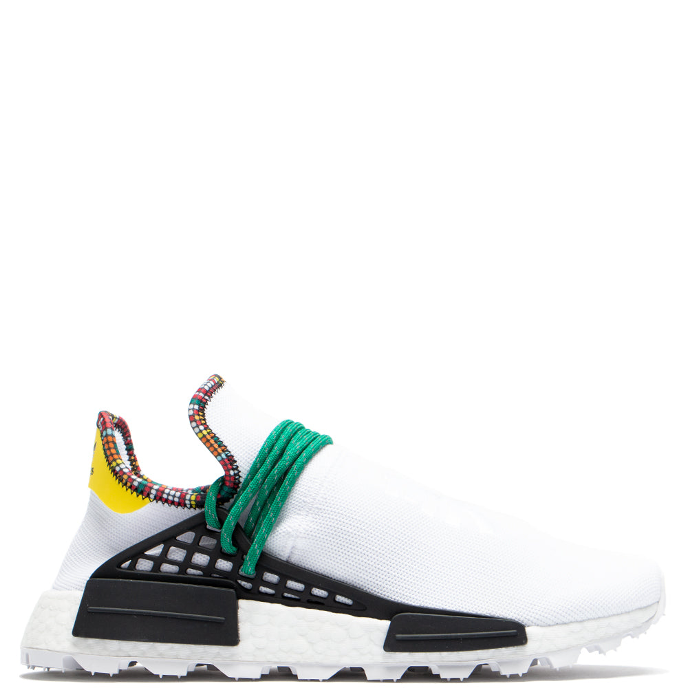 Style code EE7583. adidas by Pharrell Williams Hu NMD / White