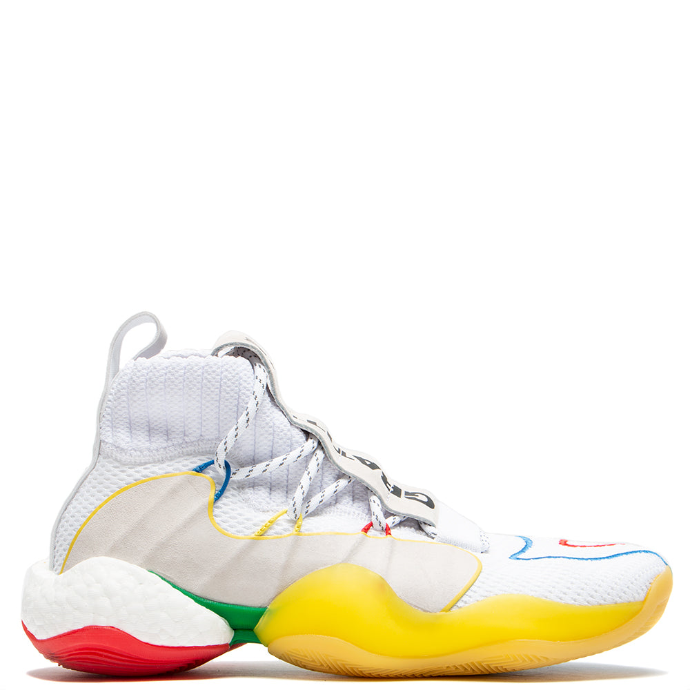 hot sales 4f670 2aadf adidas by Pharrell Williams BYW LVL X / White