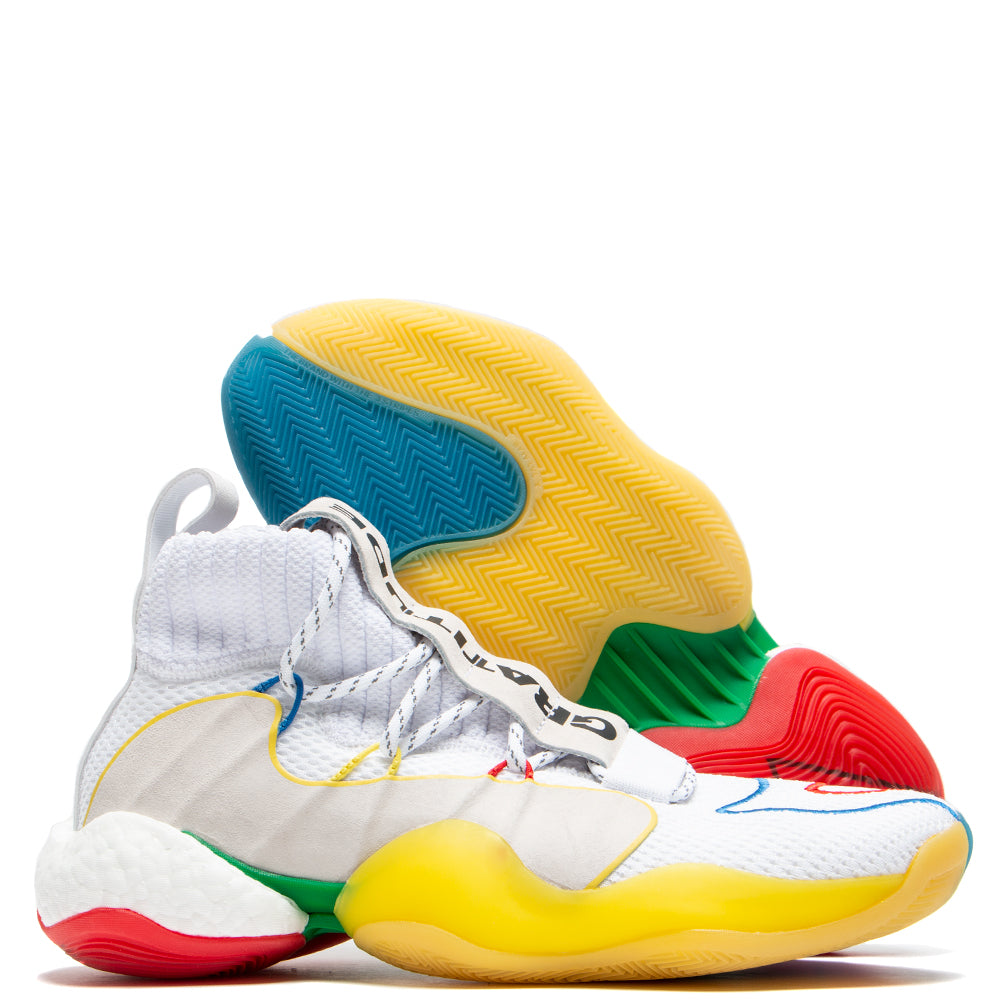 hot sales e0de1 7afe4 adidas by Pharrell Williams BYW LVL X / White