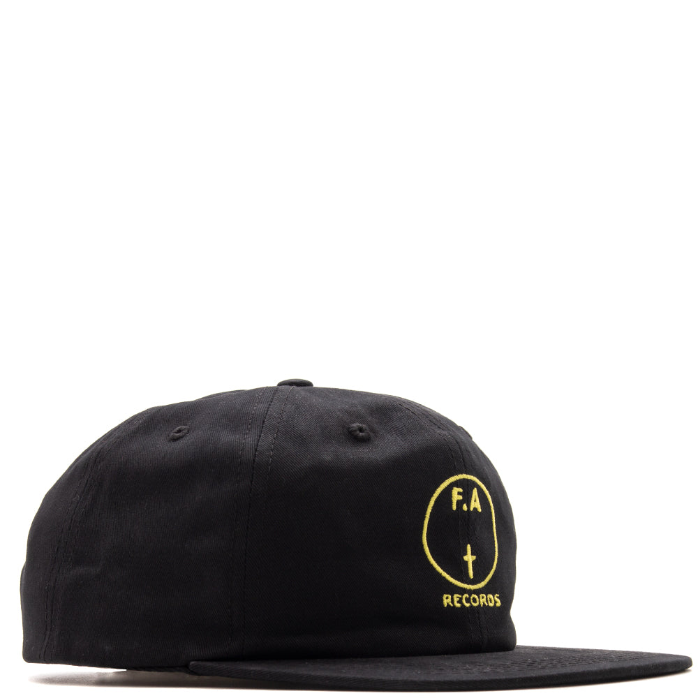 01c4ddc850a Style code FAFA18HT002BKY. Fucking Awesome FA Records Hat   Black
