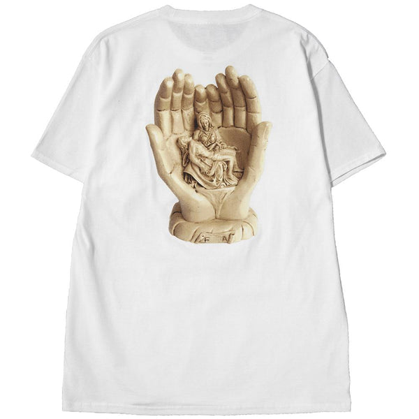 Style code FAHO17TS013WHT. FUCKING AWESOME STATUE HANDS T-SHIRT / WHITE