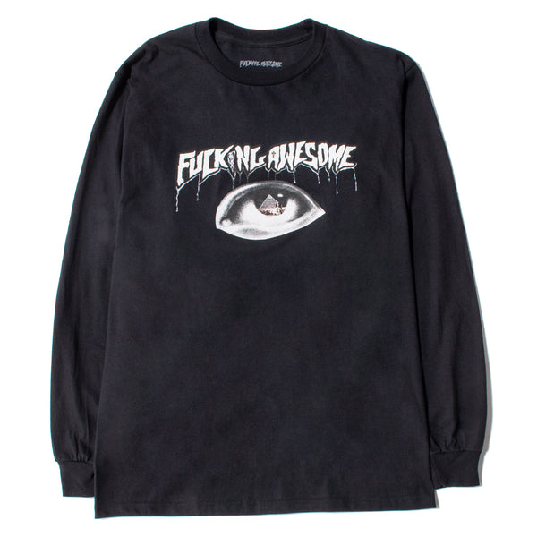 Style code FAHO18LS007BLK. Fucking Awesome Egypt Long Sleeve T-shirt / Black