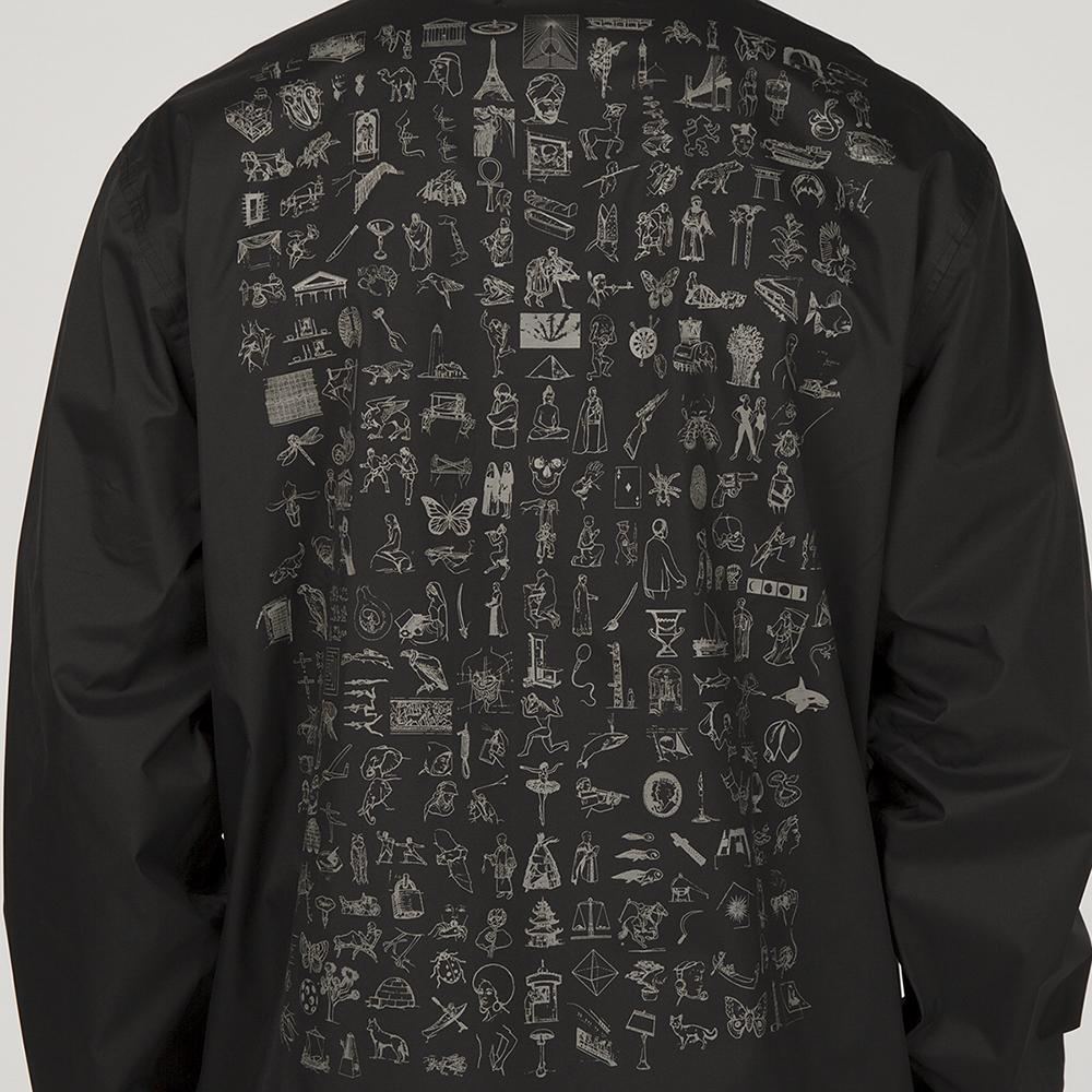 FUCKING AWESOME DICTIONARY COACHES JACKET / BLACK