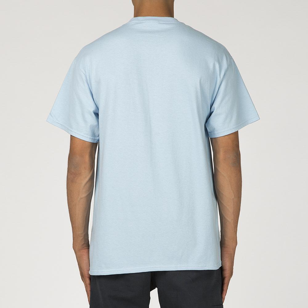 FUCKING AWESOME KNIFE TONGUE T-SHIRT / LIGHT BLUE