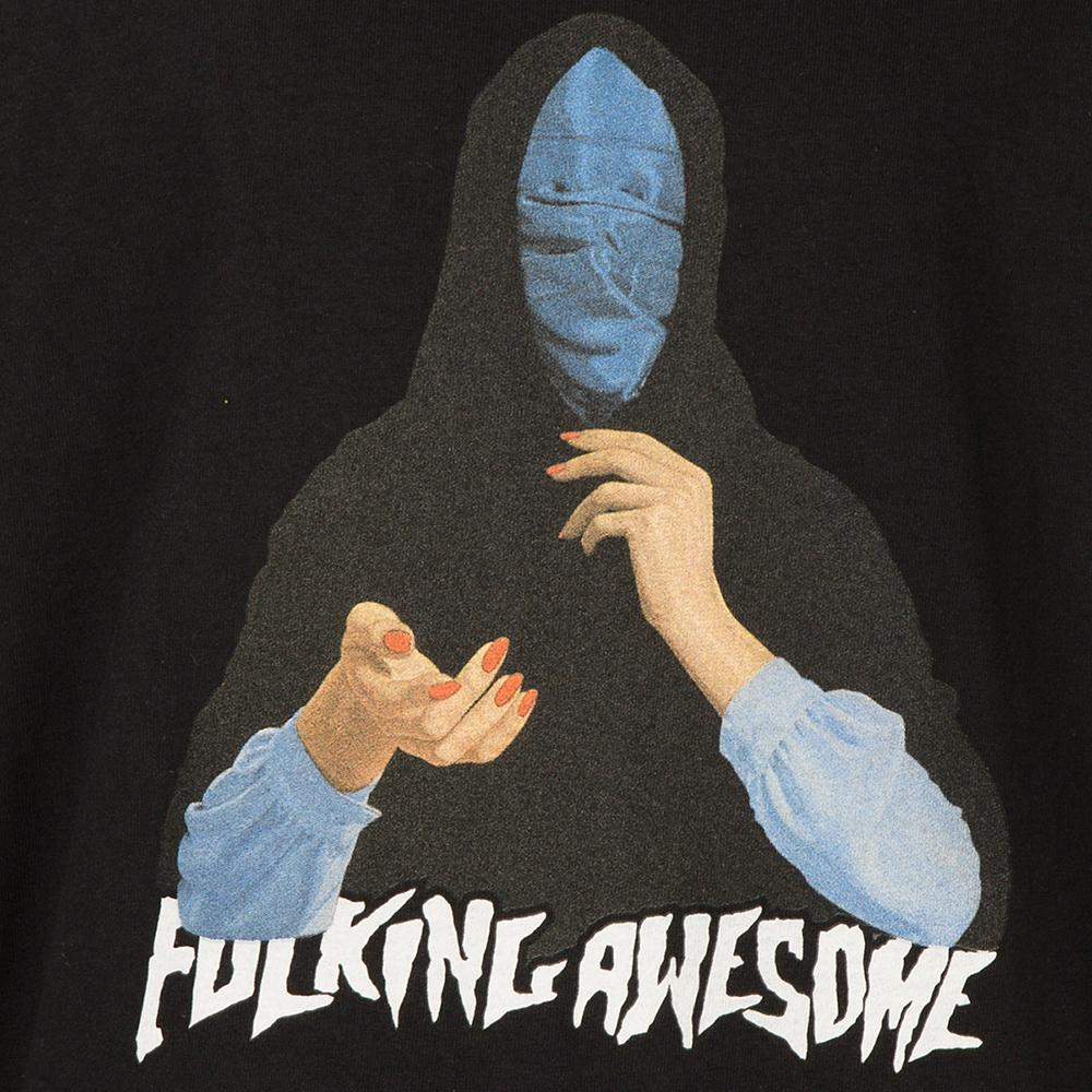 FUCKING AWESOME BLUE VEIL T-SHIRT / BLACK