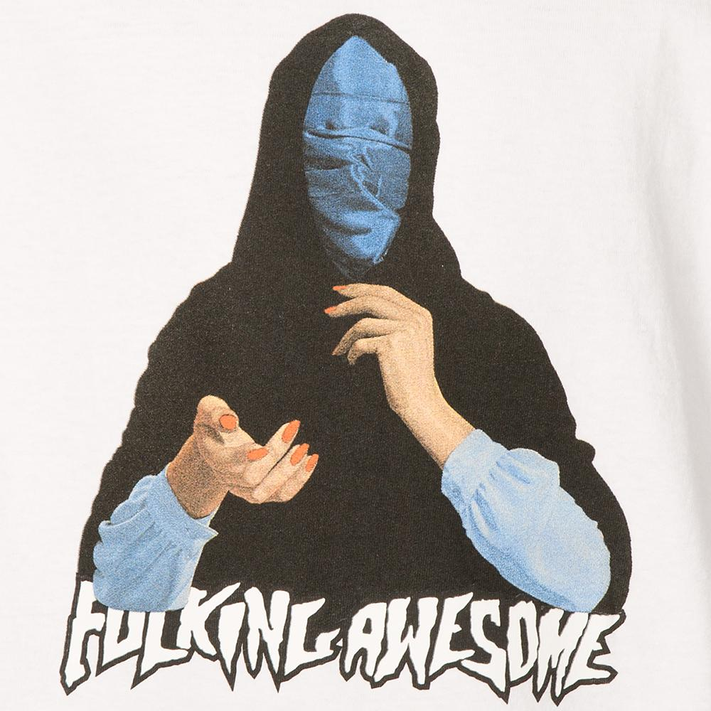 FUCKING AWESOME BLUE VEIL T-SHIRT / WHITE