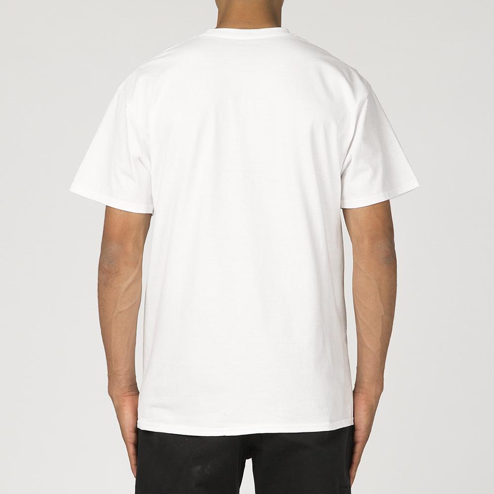 FUCKING AWESOME CENSORED T-SHIRT / WHITE
