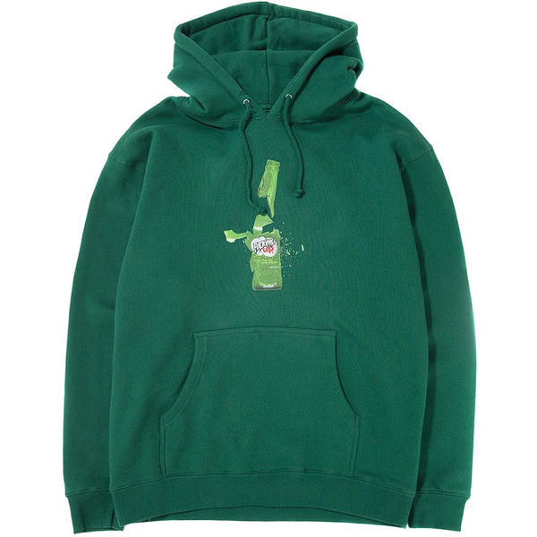 Style code FASP18HD011DRG. FUCKING AWESOME FUCKED UP PULLOVER HOODIE / DARK GREEN