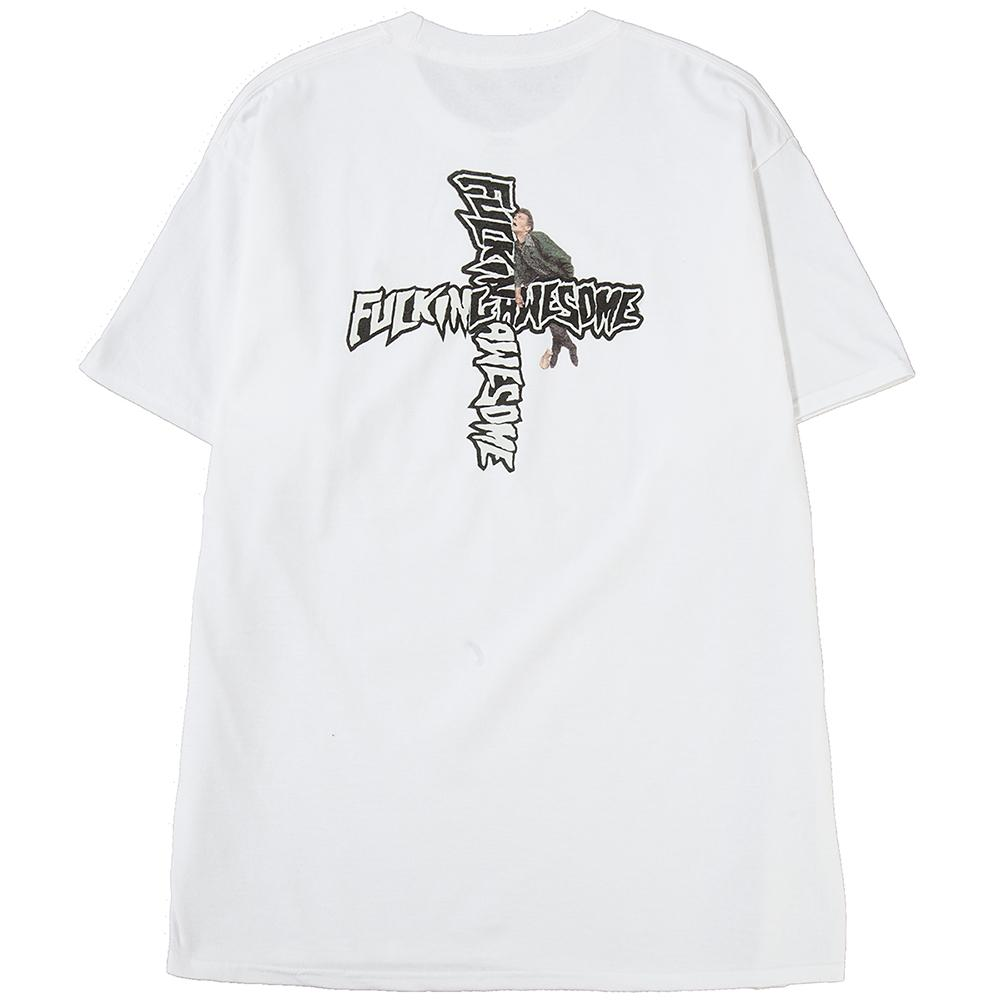 Style code FASP18TS029WHT. FUCKING AWESOME HOBO T-SHIRT / WHITE