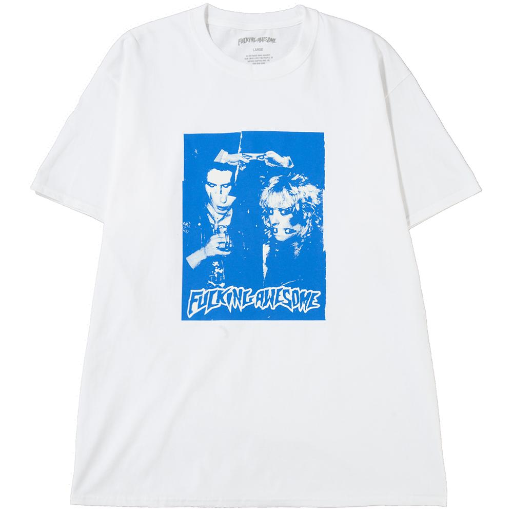 Style code FASP18TS047WHT. FUCKING AWESOME SID AND NANCY T-SHIRT / WHITE