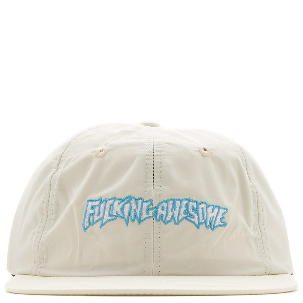 FUCKING AWESOME OUTLINE LOGO HAT / CREAM
