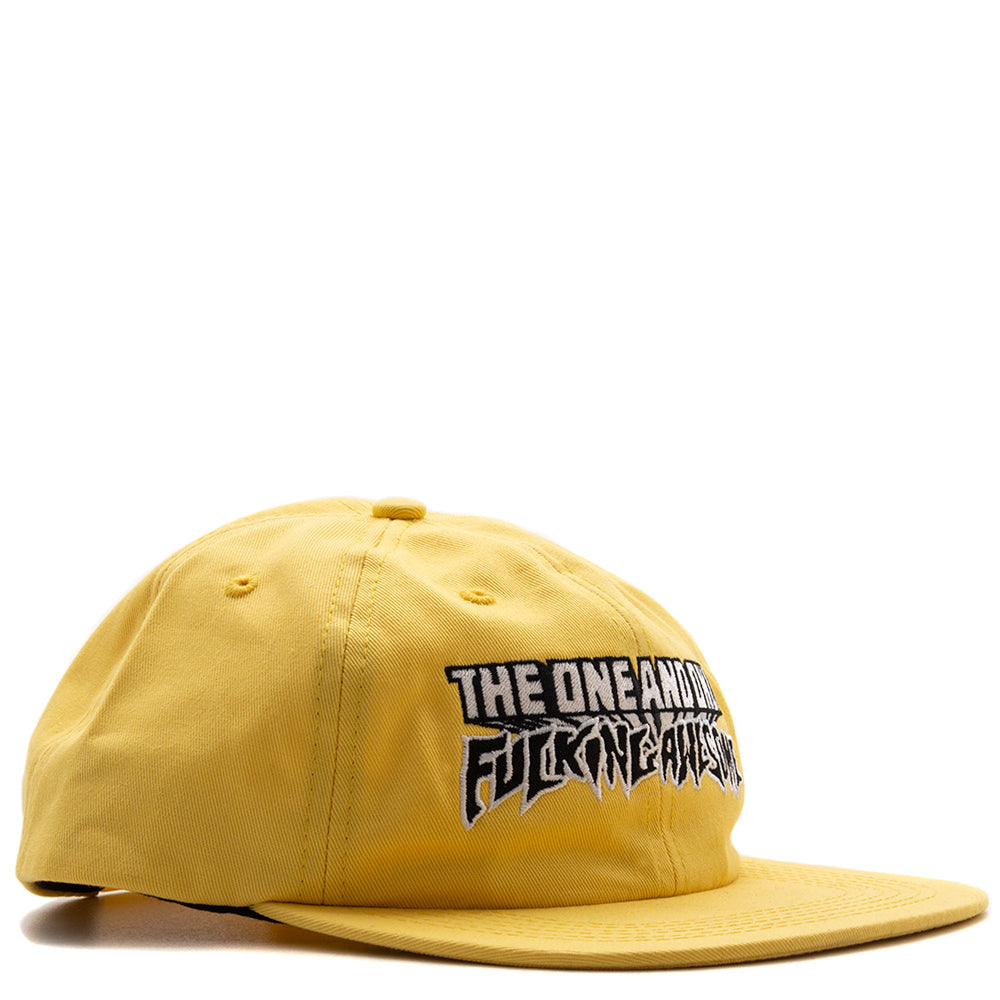 Style code FASU18HT001YEL. Fucking Awesome One and Only 5 Panel / Yellow