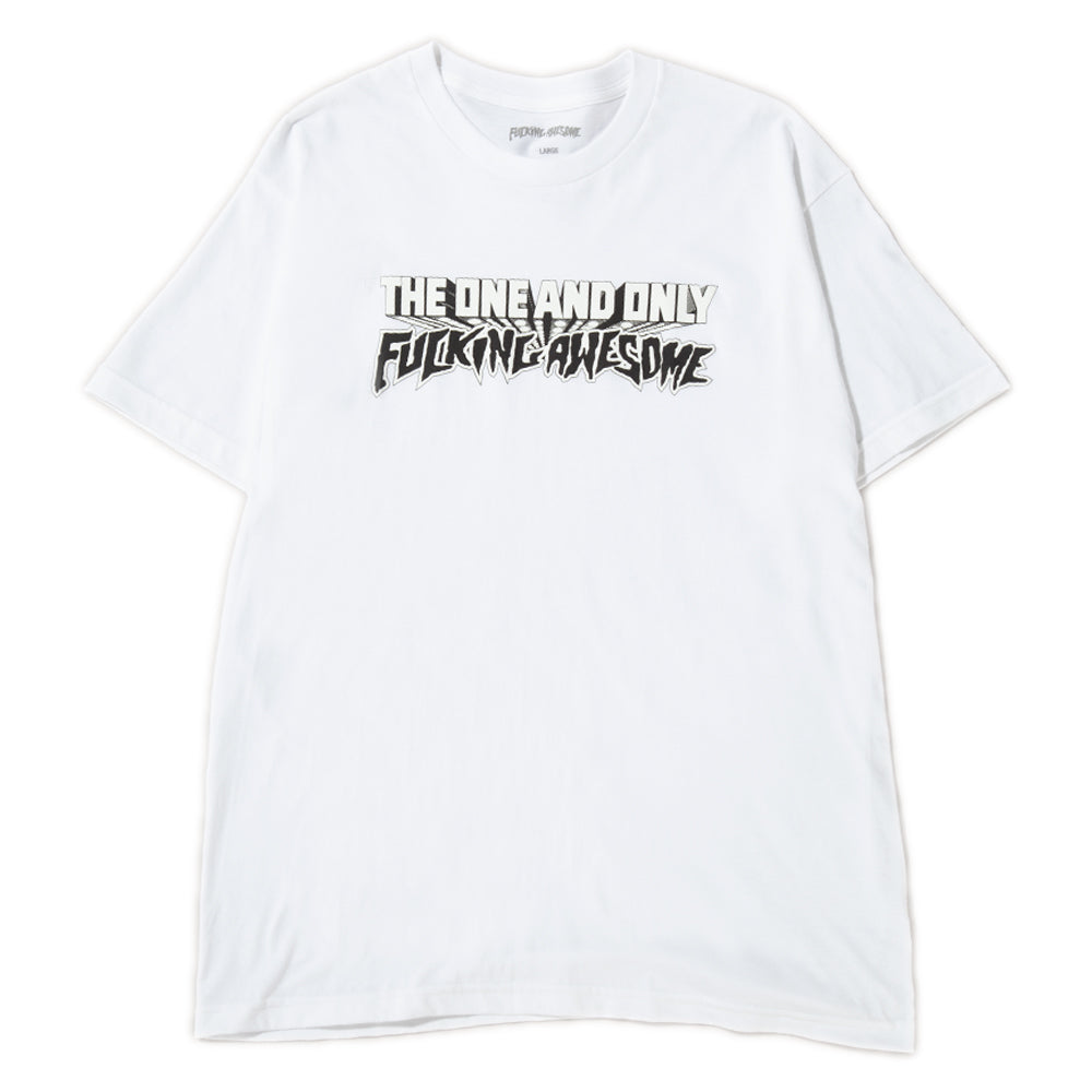 Style code FASU18TS001WHT. Fucking Awesome One and Only T-shirt / White