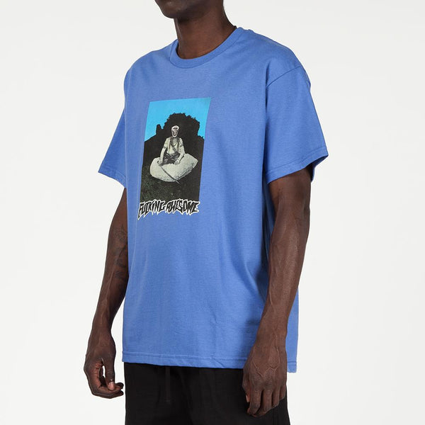 Style code FASU18TS012FLB. Fucking Awesome Serpent On The Mount T-shirt / Flo Blue