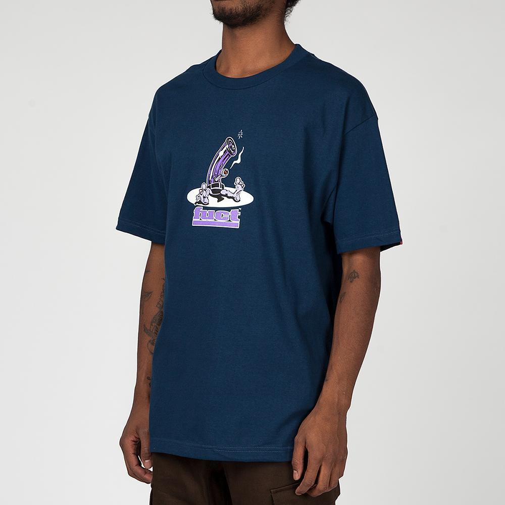 FUCT SSDD BONG 1991 T-SHIRT / HARBOR BLUE