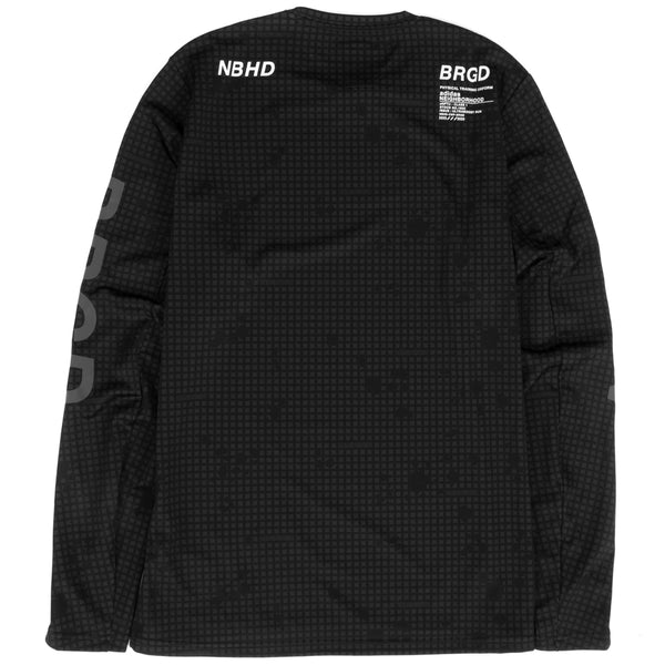 adidas x NBHD Long Sleeve Compression T-shirt / Black