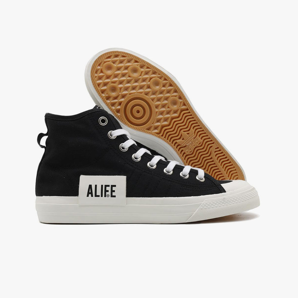 adidas Consortium by ALIFE Nizza Hi / Core Black