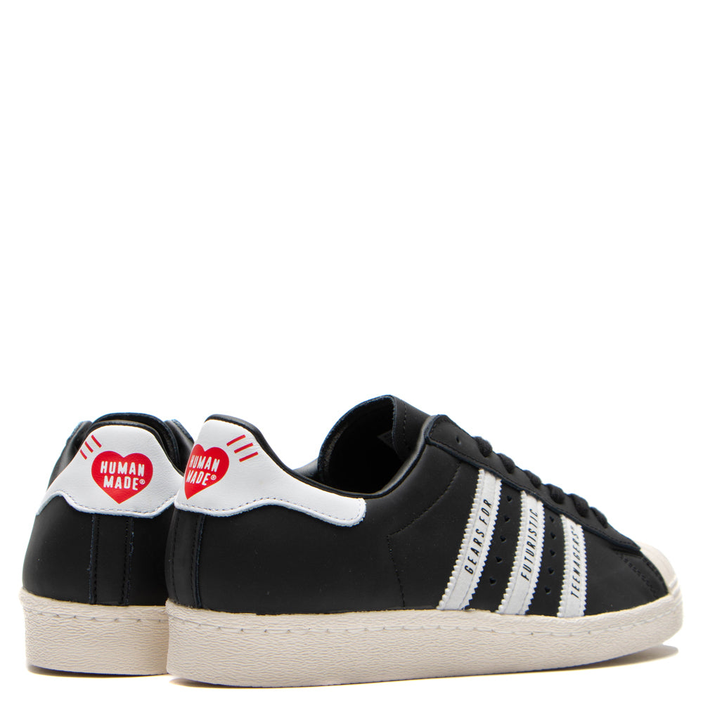 adidas Originals by Human Made Superstar 80s / Core Black