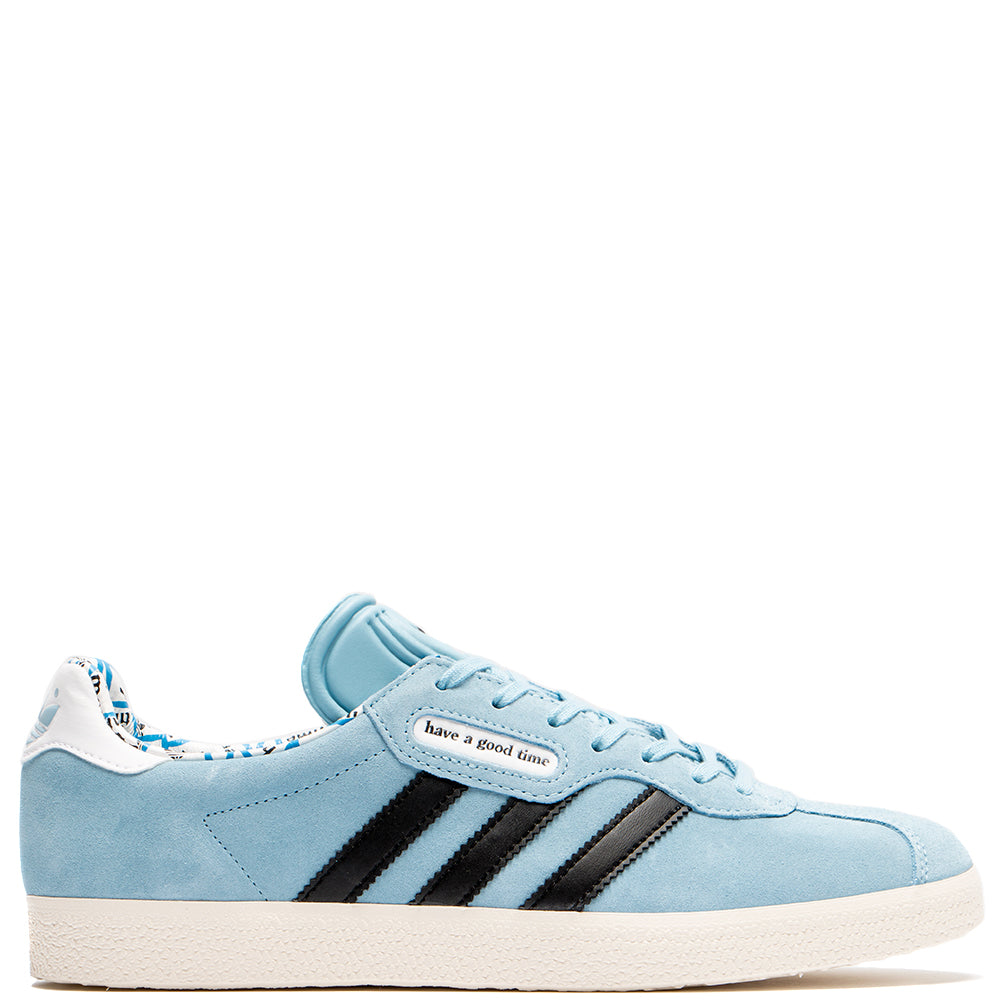 G54785 adidas by HAVE A GOOD TIME Gazelle Super / Clear Blue