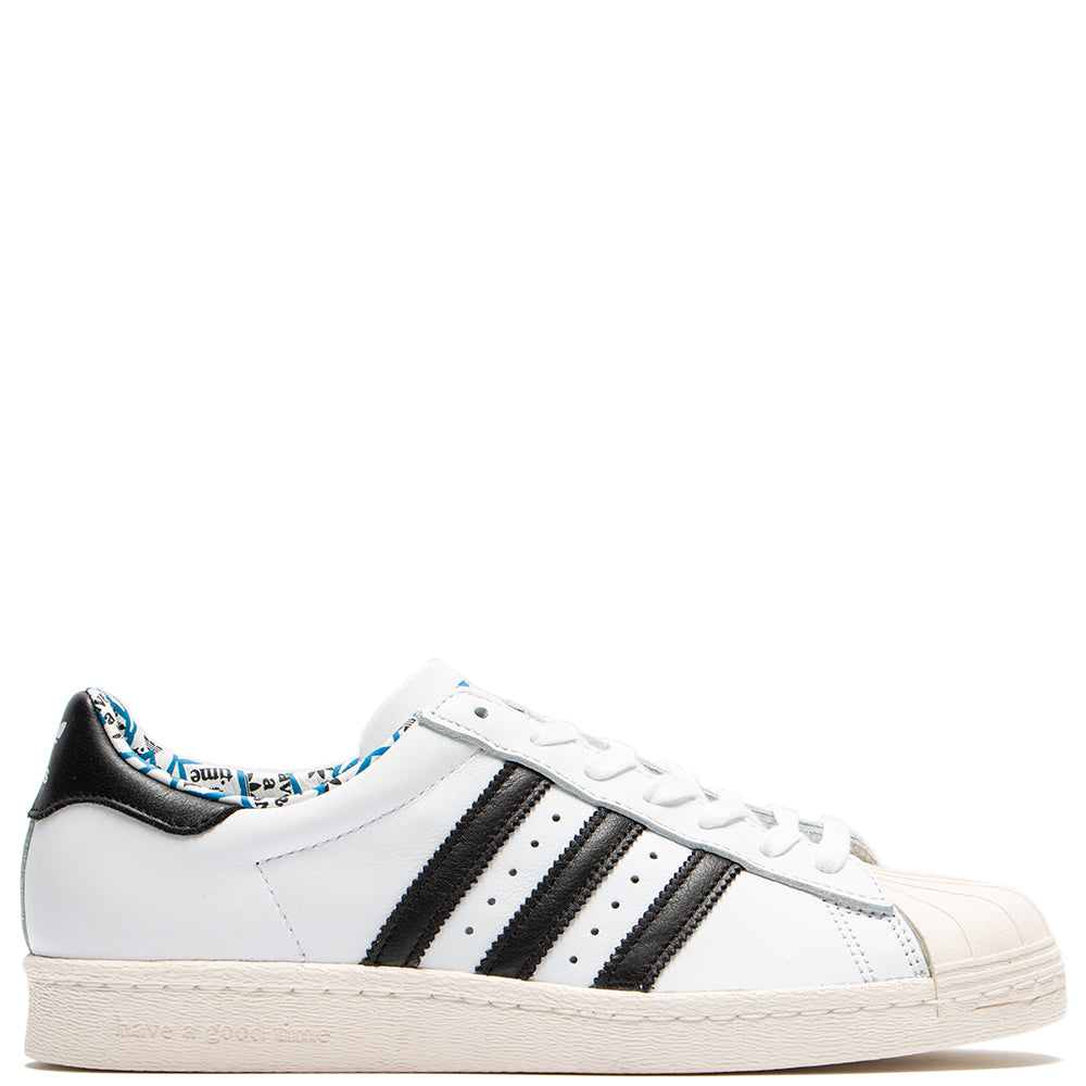 adidas by Have A Good Time Superstar 80's / White - Deadstock.ca