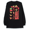 Gasius Duck Rock Long Sleeve T-shirt / Black - Deadstock.ca