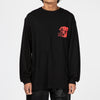 Gasius Duck Rock Long Sleeve T-shirt / Black