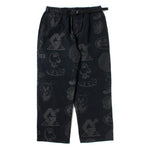 Gasius All-Over Jehovah Pants / Black - Deadstock.ca