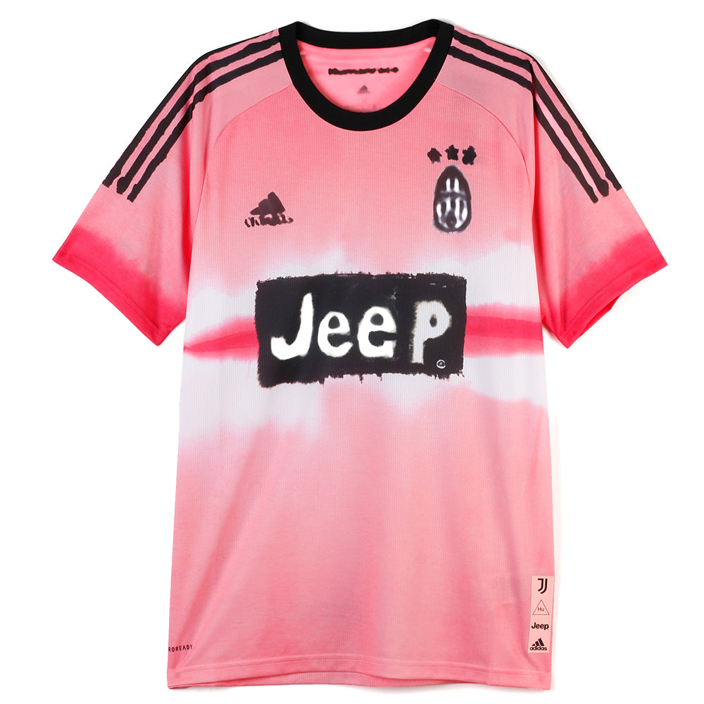 adidas Pharrell Williams Juventus Human Race FC Jersey / Glow Pink