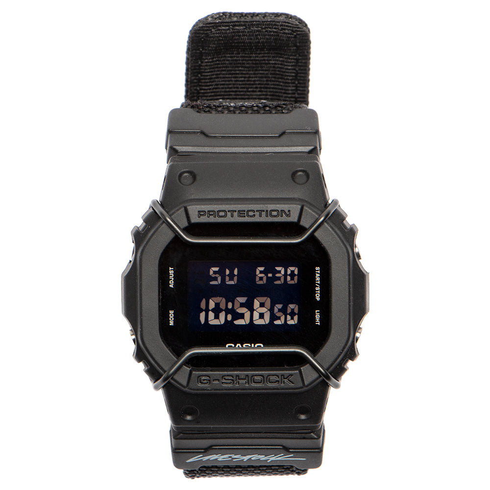 Style code GS-DW5600BBN1TF. G-SHOCK by Livestock 5600 / Black