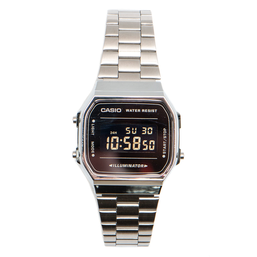 Casio Vintage Watch Silver / Black - Deadstock.ca