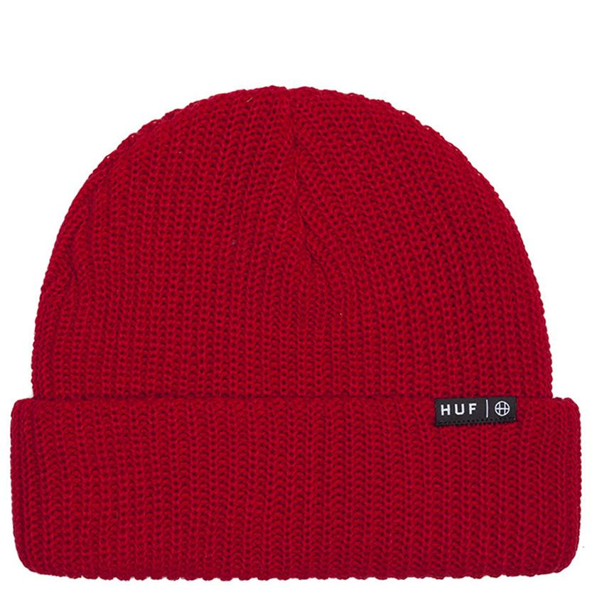 HUF USUAL BEANIE / RED