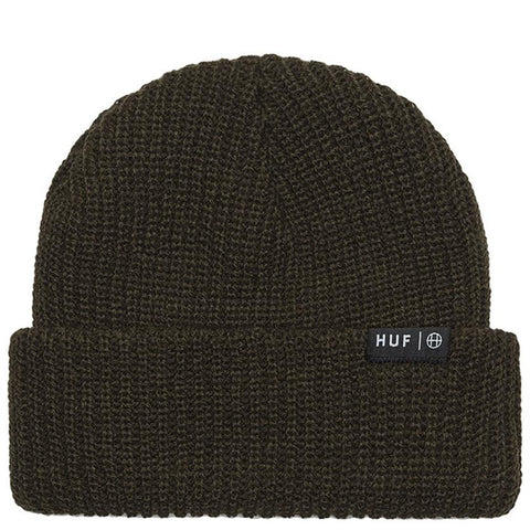 HUF USUAL BEANIE / ARMY