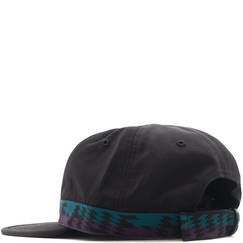 HUF LANDERS FORMLESS 6 PANEL / BLACK