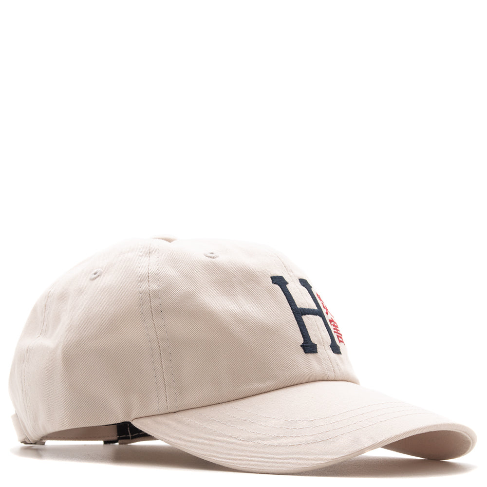 Style code HUFHT00238FA18D1BIR. HUF Disaster CV 6 Panel Hat / Birch