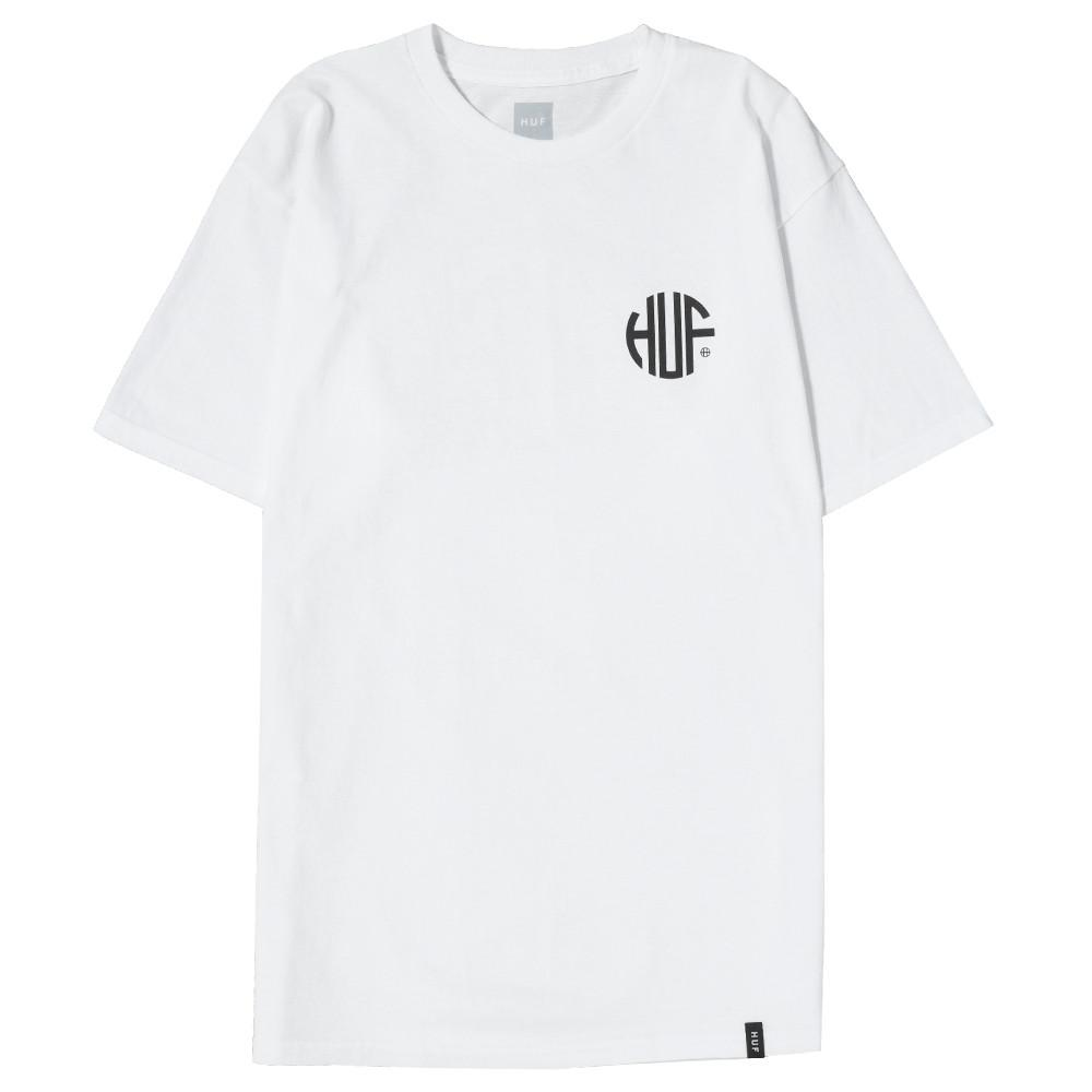 style code HUFTS00149FA17D1WHT. HUF REGIONAL T-SHIRT / WHITE