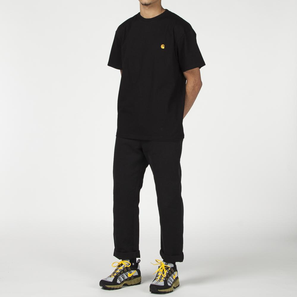Style code I021949BLK. CARHARTT WIP CHASE T-SHIRT / BLACK