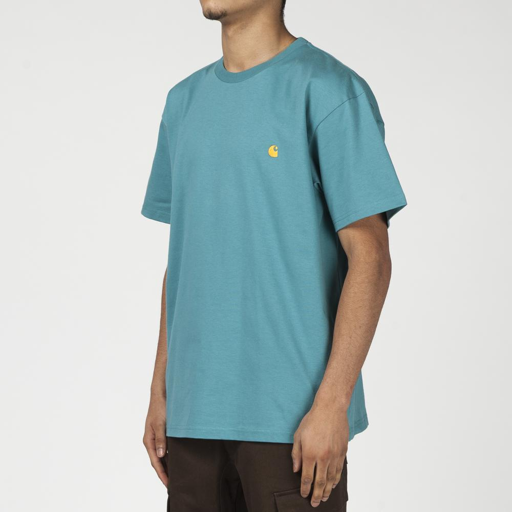 CARHARTT WIP CHASE T-SHIRT / TEAL