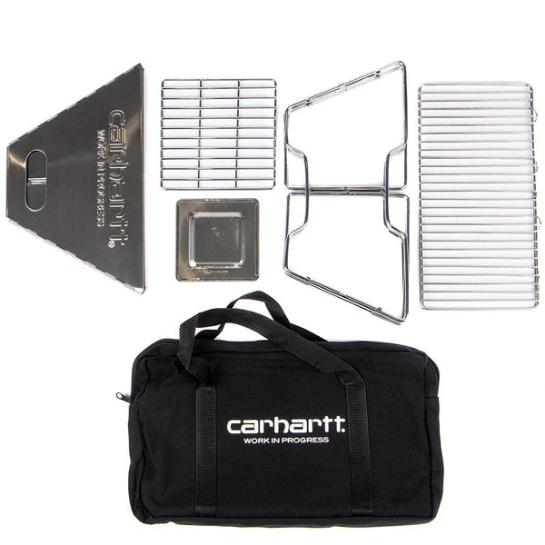 Style code I025218SIL. Carhartt WIP Portable BBQ / Silver